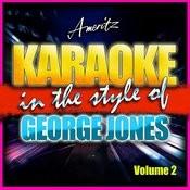 Karaoke - George Jones Vol. 2 Songs