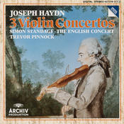 Haydn: Violin Concertos In C Major Hob.VIIa: 1, In G Major Hob. VIIa: 4, In A Major Hob. VIIa: 3/ Salomon: Romance in D Major Songs