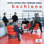 Bachiana I - Music by the Bach Family Songs