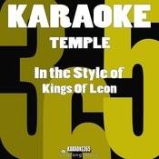 Temple (In The Style Of Kings Of Leon) [Karaoke Version] - Single Songs
