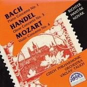 Bach, Händel, Mozart: Piano Concerto No. 1 - Oboe Concerto No. 3 - Violin Concerto No. 4 Songs