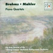 Brahms/Mahler: Piano Quartets Songs