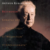 Rubinstein Collection, Vol. 33: Beethoven: Piano Sonatas, Opp. 13,  53, 57 Pathétique, Waldstein & Appassionata Songs
