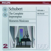 Schubert: The Complete Impromptus/Moments Musicaux Songs