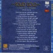Solid Gold Arun Date Vol 2 Songs