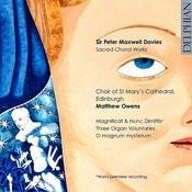 Sir Peter Maxwell Davies: Sacred Choral Works Songs