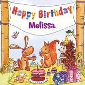 Happy Birthday Melissa Songs