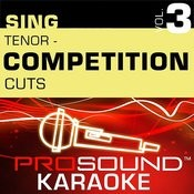 Competition Cuts - Tenor - Pop/Rock (Vol. 3) Songs