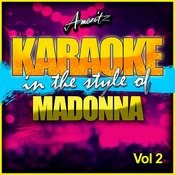 Karaoke - Madonna Vol. 2 Songs