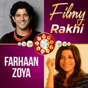 Filmy Rakhi Farhaan and Zoya