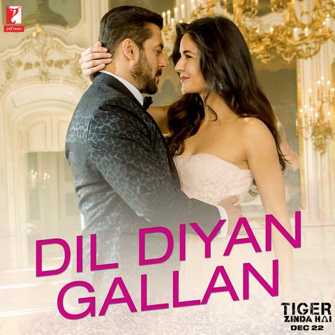 Dil Diyan Gallan Song | Tiger Zinda Hai | Salman Khan, Katrina Kaif | Atif Aslam | Vishal & Shekhar