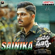 Sainika MP3 Song Download- Naa Peru Surya Naa illu India Sainika Telugu Song  by Vishal Dadlani on Gaana.com
